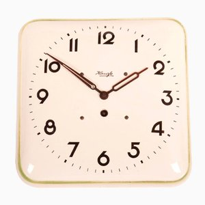 German Art Deco Wall Clock from Kienzle, 1930s