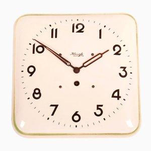 Reloj de pared alemán Art Déco de Kienzle, años 30