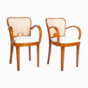 Dining Armchairs from Fischel, 1930, Set of 2