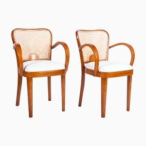 Esszimmerstühle von Fischel, 1930, 2er Set