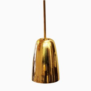 Lámpara colgante Mid-Century de latón de Kalmar Vienna