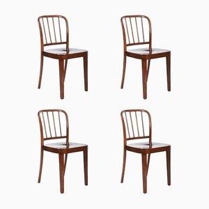 Esszimmerstühle von Josef Frank für Thonet, 1930er, 4er Set