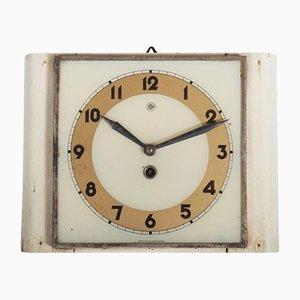 Horloge Murale Art Déco de Chomutov, République Tchèque, 1930s