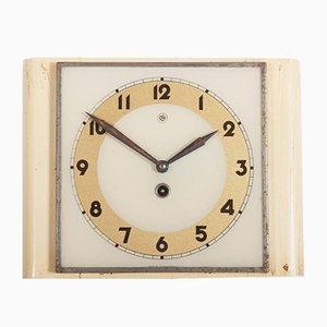 Reloj de pared Art Déco de Chomutov, años 30