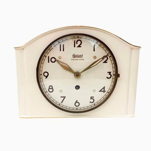 German Ceramic Wall Clock from Garant, 1950s