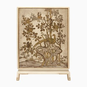 Mueble bar vintage con chinoiserie