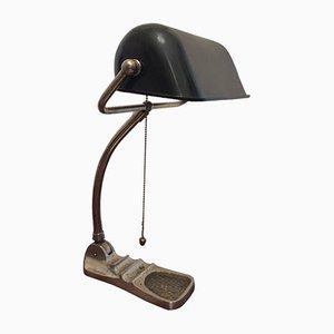 Lámpara de banquero industrial, años 30