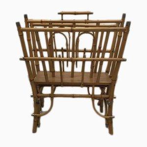 Portariviste antico in bamboo