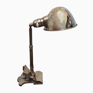 Lampada a morsetto Art Déco di HALA - Hannoversche Lampenfabrik, anni '20