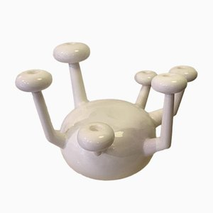 Atomo Ceramic Candle Holder by Jaime Hayon for Bosa, 2000
