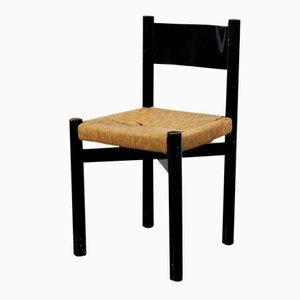 Vintage Meribel Stuhl von Charlotte Perriand für Georges Blanchon, 1950er