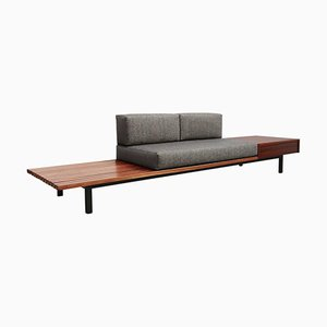Panca Cansado Mid-Century di Charlotte Perriand