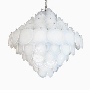 Vintage Italian Disc Ceiling Light from Vistosi