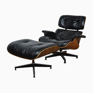 Eames Lounge Chair & Ottoman by Charles & Ray Eames for Herman Miller, 1960s
