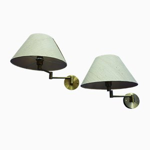 Swiss Wall Lamps from Temde, 1960s, Set of 2