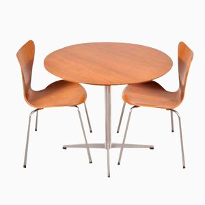Danish Dining Set by Arne Jacobsen for Fritz Hansen, 1960s