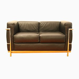 Lc2 Sofa By Le Corbusier For Alivar 1989