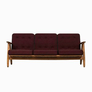 Vintage GE-240 Sofa by Hans Wegner for Getama