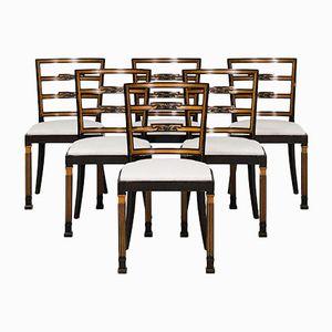 Dining Chairs by Erik Chambert for Chamberts Möbelfabriker, 1930s, Set of 6