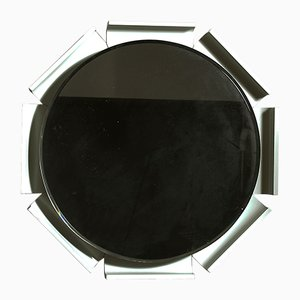 Italian Beveled Back-Lit Mirror, 1960s