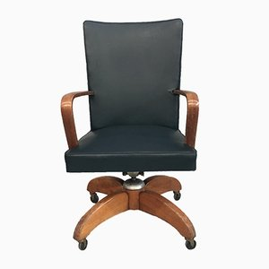 Italian Desk Swivel Chair from Mobili Riva, 1960s