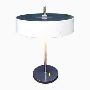 Lámpara de mesa de metal, años 60