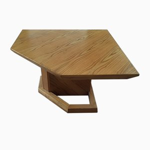 Italian Pine Architect's Table, 1970s