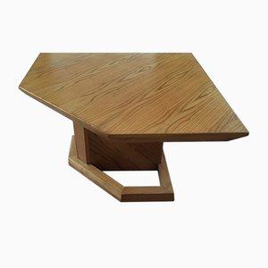 Mesa de arquitecto italiana de pino, años 70