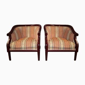 Französische Sessel, 1960er, 2er Set