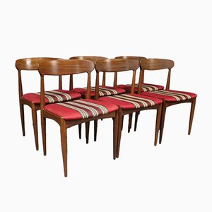 Rosewood Dining Chairs by Johannes Andersen for Uldum M∅belfabrik, 1960s, Set of 6