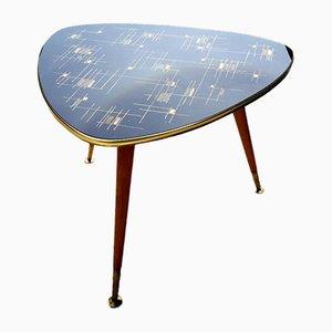 Tavolo tripode con piedi a compasso, anni '50