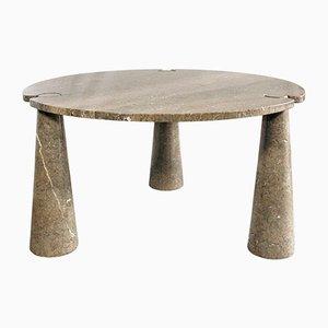 Table en Marbre Modèle Eros par Angelo Mangiarotti, 1970s