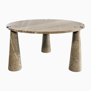 Tavolo modello Eros in marmo di Angelo Mangiarotti, anni '70