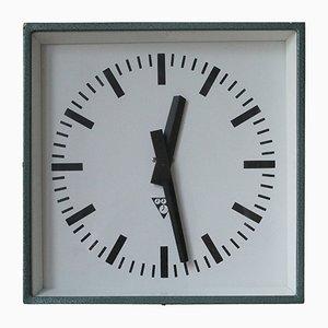 Horloge C401 Industrielle de Pragotron, 1980s