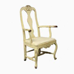 Danish Rococo Chair, 1740s