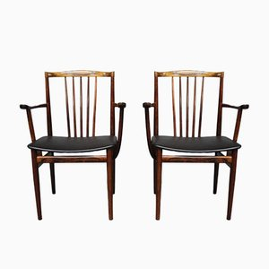Armchairs by Henning Sørensen, 1968, Set of 2