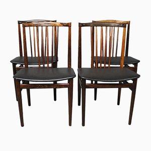 Chaises de Salle à Manger par Henning Sorensen, 1968, Set de 4