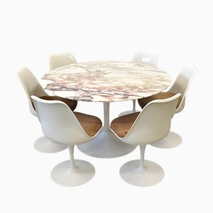 Marble Dining Table by Eero Saarinen for Knoll International, 1970s