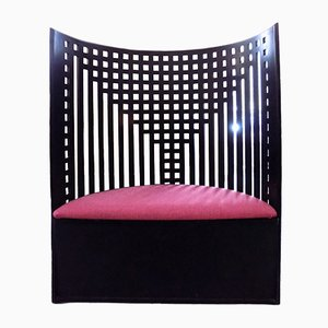Willow Armchair by Charles Rennie Mackintosh, 1980s