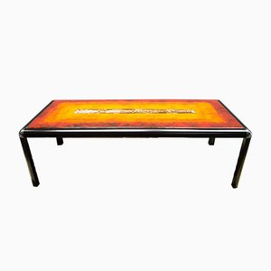 Vintage Fat Lava Coffee Table