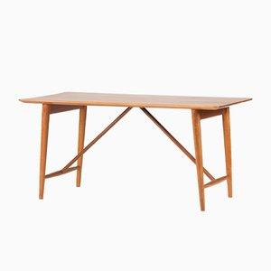 Teak Schreibtisch von Peter Hvidt & Orla Mølgaard für Søborg, 1950er