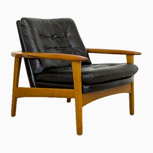 Scandinavian Teak Lounge Chair, 1960s