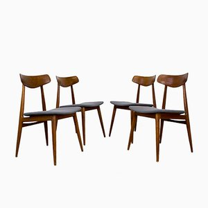 Mid-Century Modern Teak Chairs from Habeo, 1960s, Set of 4