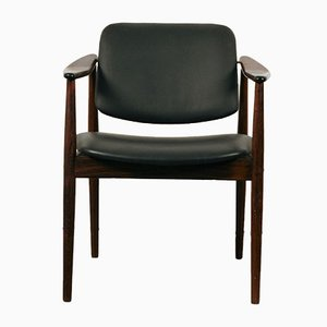 Armchair in Rosewood by Arne Vodder for Bovirke, 1960s