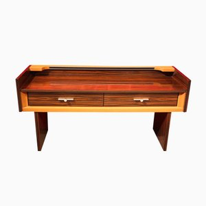Macassar Ebony Console Table, 1960s