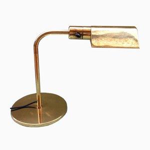Lámpara de escritorio Art Déco vintage de G.W. Hansen para Metalarte