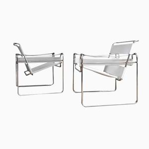 Wassily Chairs by Marcel Breuer, 1980s, Set of 2