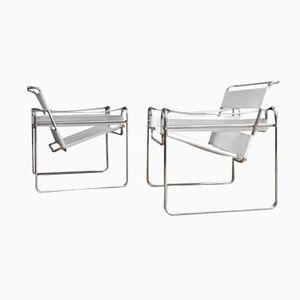 Wassily Stühle von Marcel Breuer, 1980er, 2er Set