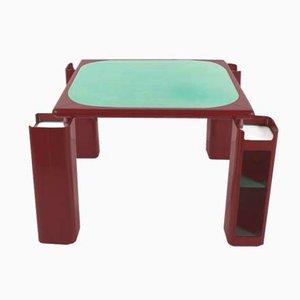 Table de Jeu par Pierluigi Molinari pour Pozzi Milano, 1970s