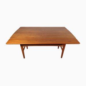 Ausziehbarer Vintage Teak Tisch von Niels Bach